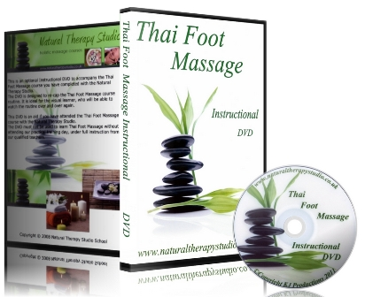 Thai Foot Massage Course DVD